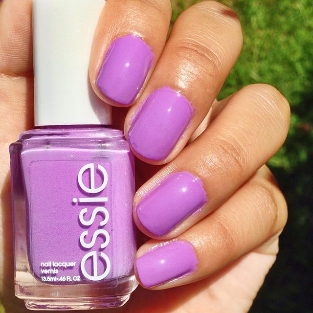Get date-night-ready with soft yet bright, adorable purple polish ...