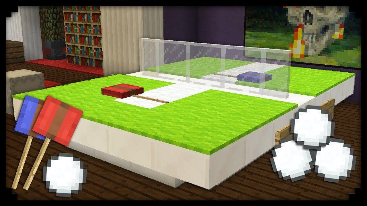 Minecraft Comment Faire Une Table De Ping Pong Minecraft Designs Minecraft Ping Pong Table