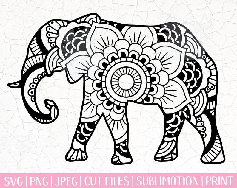 Mandala Elephant Svg Elephant Clipart Elephant Svg Vector Etsy In 2020 Elephant Clip Art Mandala Elephant Elephant Coloring Page 100,000+ vectors, stock photos & psd files. mandala elephant svg elephant clipart