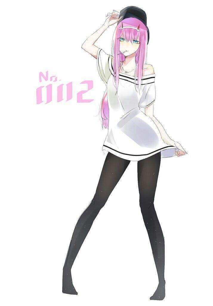 Zero Two Personagens De Anime Garotas