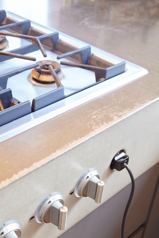Sichtbeton Detailaufnahme Küche