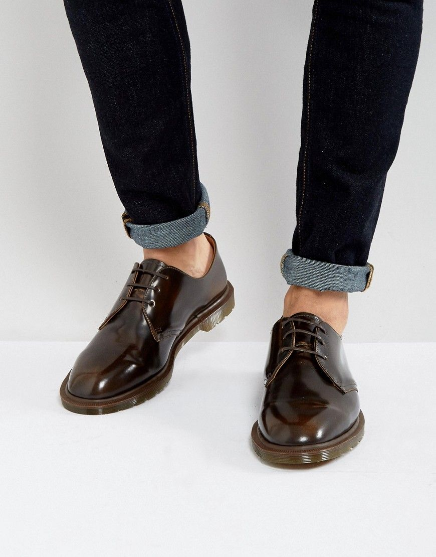 Dr Martens Made In England Steed Shoes Tan | Shoes
