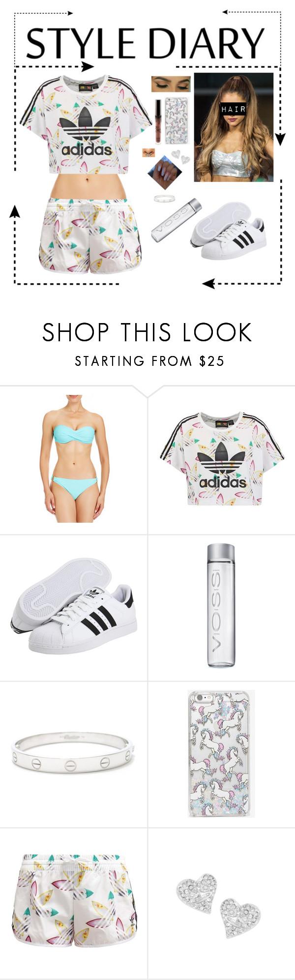"""Style Diary"" by niih-malik69 on Polyvore featuring beleza, 2b bebe, adidas Originals, Cartier, Skinnydip, Vivienne Westwood e AdidasOriginals"