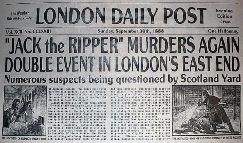 Jack The Ripper Was Three Killers: New Theory in Sherlock Holmes and the Autumn of Terror