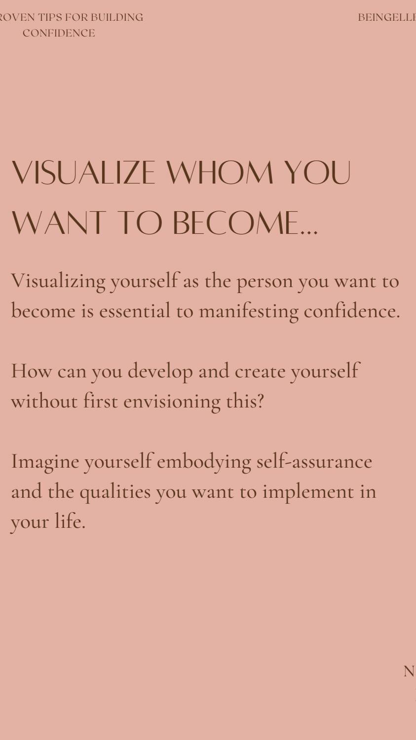 7 Proven Tips You Need to Know for Self-Confidence And Manifesting a Beautiful Life.