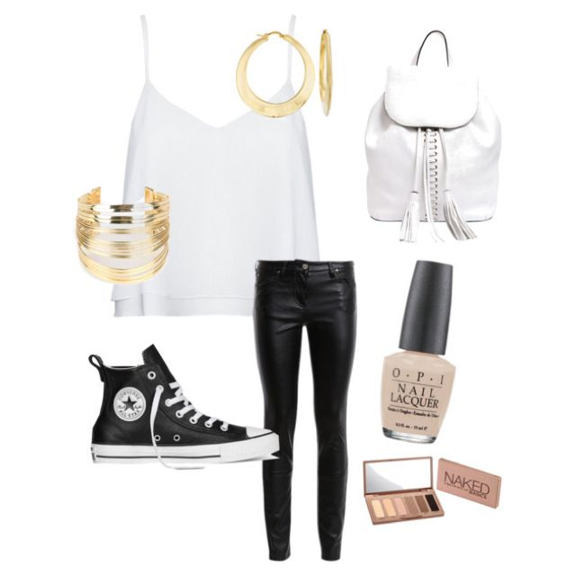 Casual black&gold