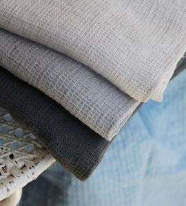 Linen Waffle Bath Towel from Alder and Co.