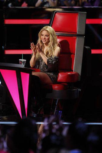The Voice - Season 6 Shakira, gorgeous as always | The Voice