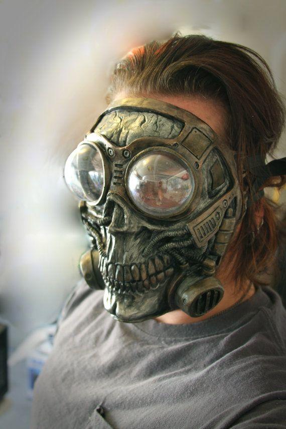 Skull fetish mask