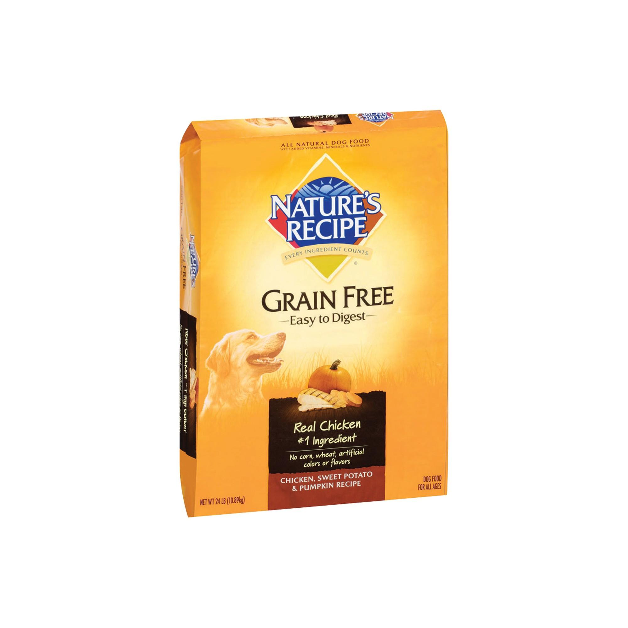 Nature S Recipe Grain Free Easy To Digest Chicken Sweet Potato