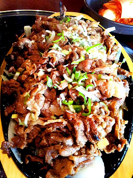 불고기 Bulgogi (Korean grilled marinated beef) @ 광복상회 in Gangnam region of Seoul, South Korea.