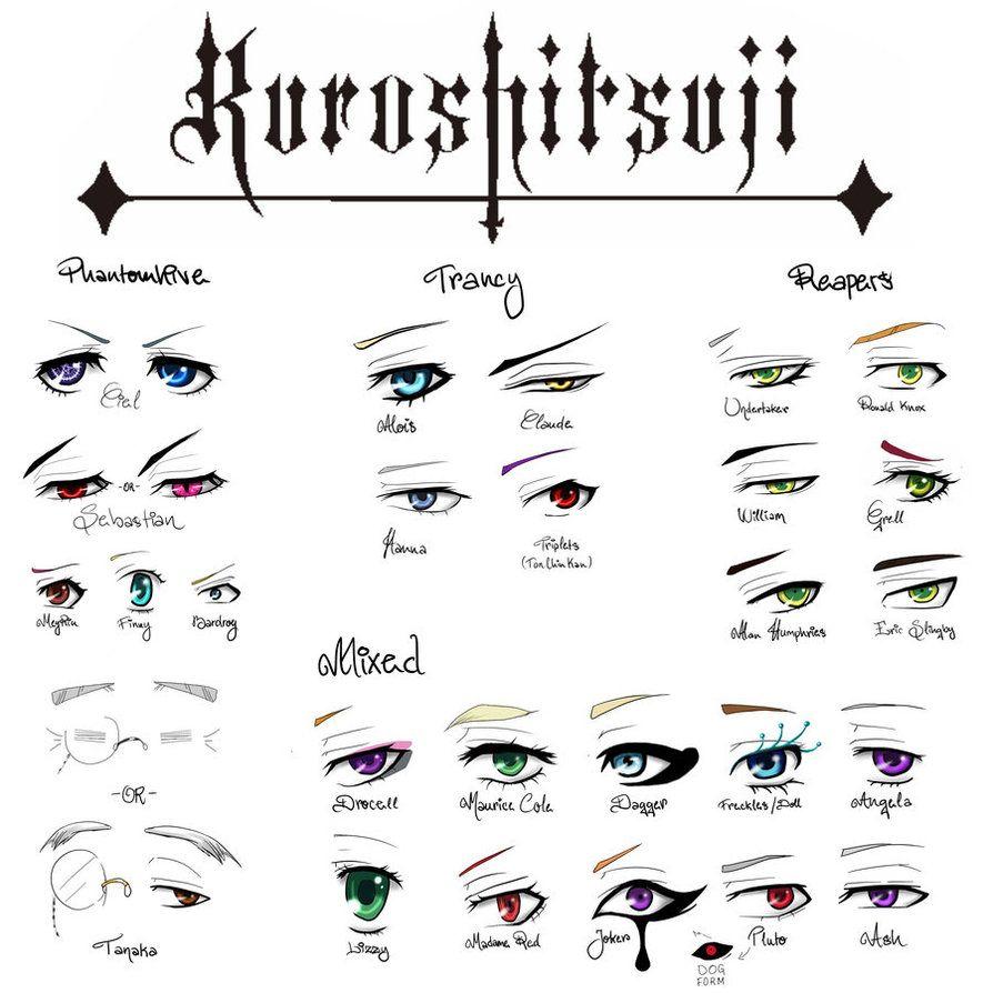 Other tutorialsreferences soma agni adfcdmqm ciels left kuroshitsuji eye chart for drawing nvjuhfo Gallery