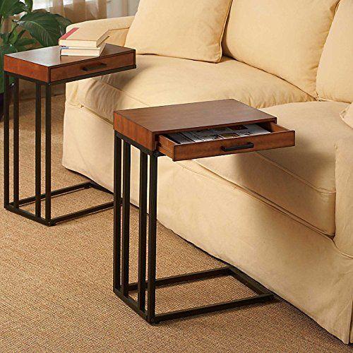 Tray Table With Drawer Improvements Improvements Muebles Decoracion De Muebles Muebles Hierro Y Madera
