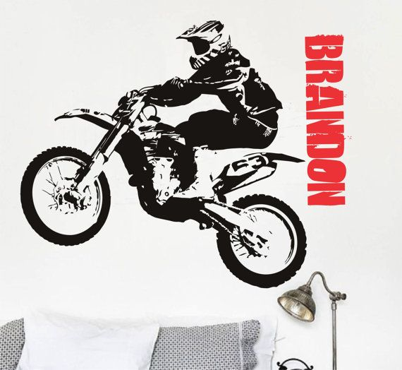 Funny Motorcycle//Motorbike Biker//Motorcross Sticker//Decal  *Colour /& Size Choice