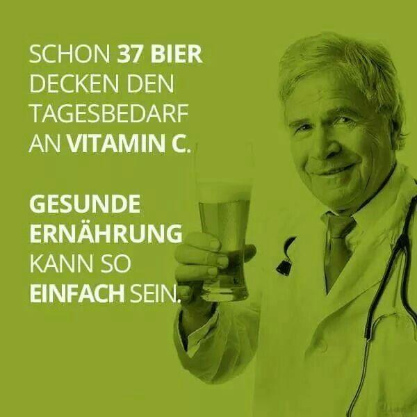 Bier Lustig Witzig Spruche Bild Bilder Bier Schon 37 Bier Decken Den Tagesbedarf An Vitamin C Lustig Witzig Spruche Bild Bier Lustig Lustige Fakten Spruche