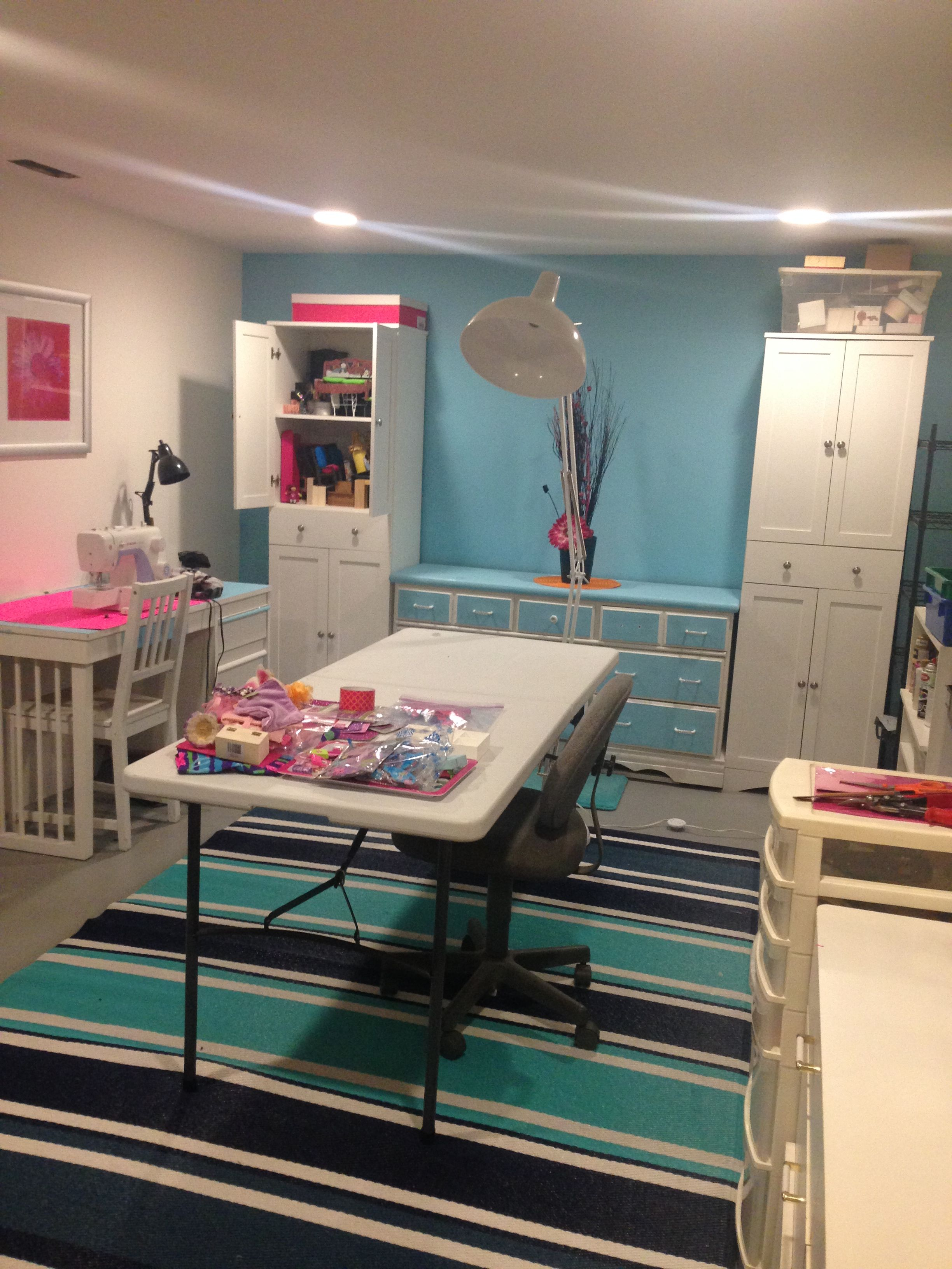 How To Organize A Multi Purpose Craft Room Includes A Planning