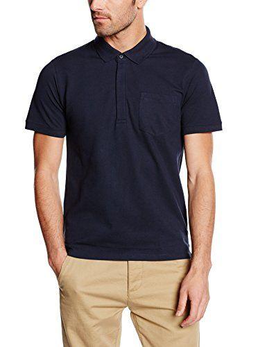 SELECTED HOMME Herren Poloshirt Gr. Medium, Blau - Blau - Navy Blazer