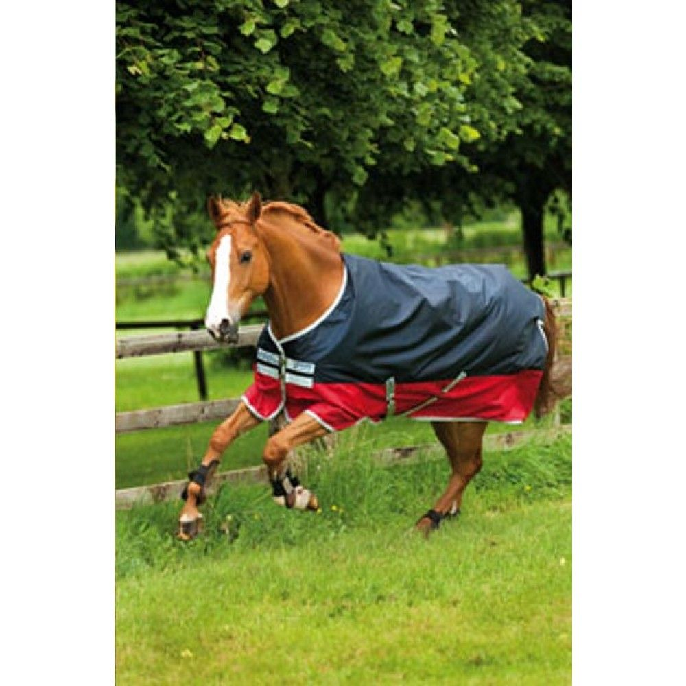 Amigo Mio Turnout Medium This Por Smart And Stylish Rug In Navy Red Looks Great On Any Horse