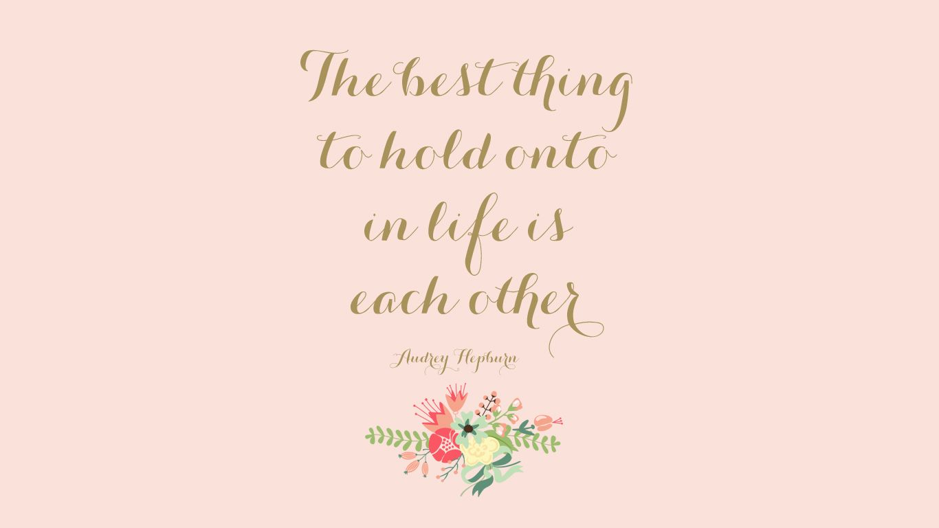 Rose Gold Pink Wallpapers 1080p Desktop Background Quote Inspirational Quotes Wallpapers Kate Spade Desktop