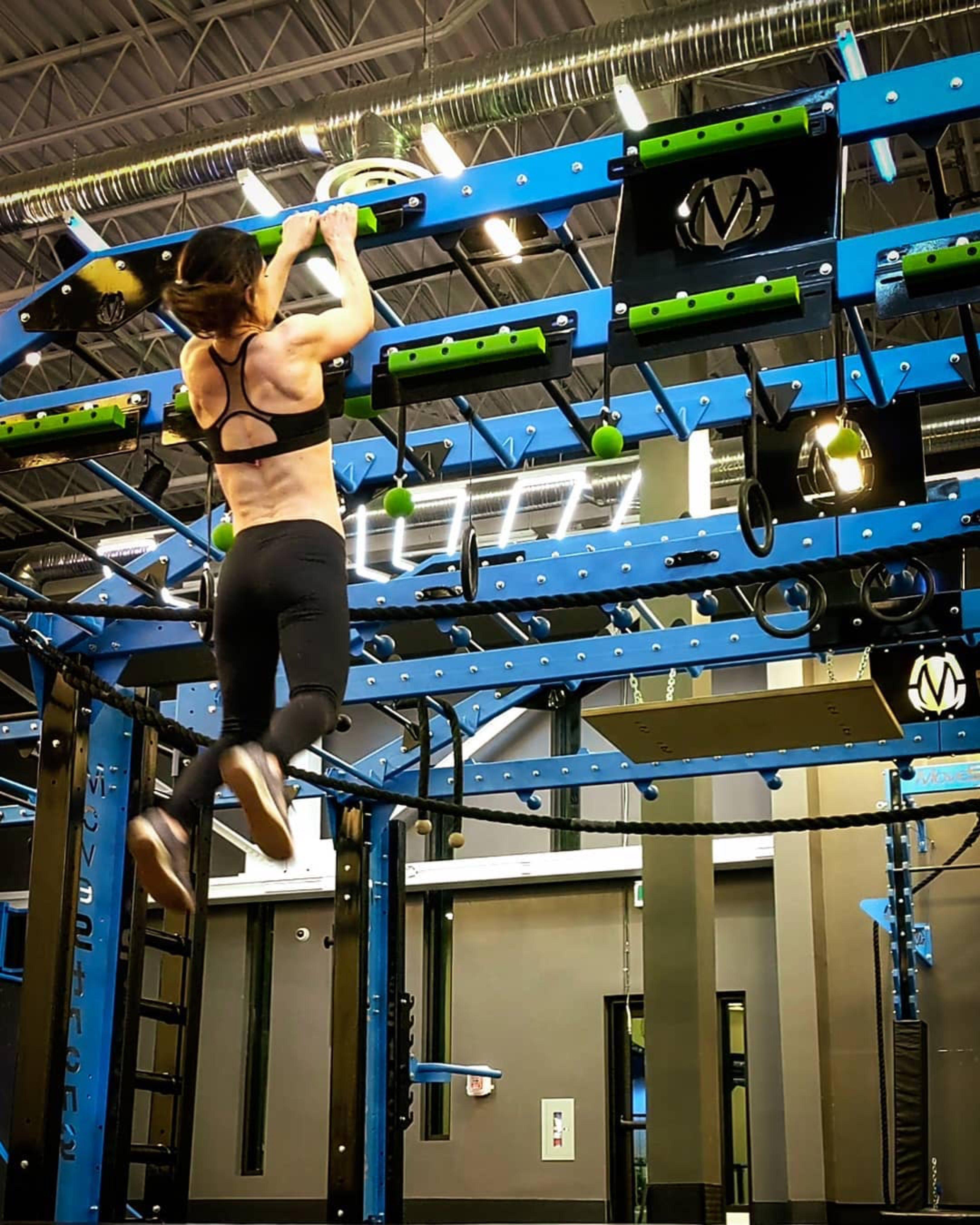 Cliff Hanger Grip Strength Ninja Warrior Training Ninja Warrior Course Gym Wallpaper Gym Interior