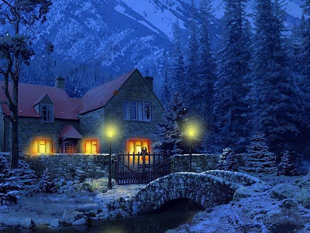 Fall Cottages Google Images Cottage Wallpaper Cottage Beautiful Wallpapers