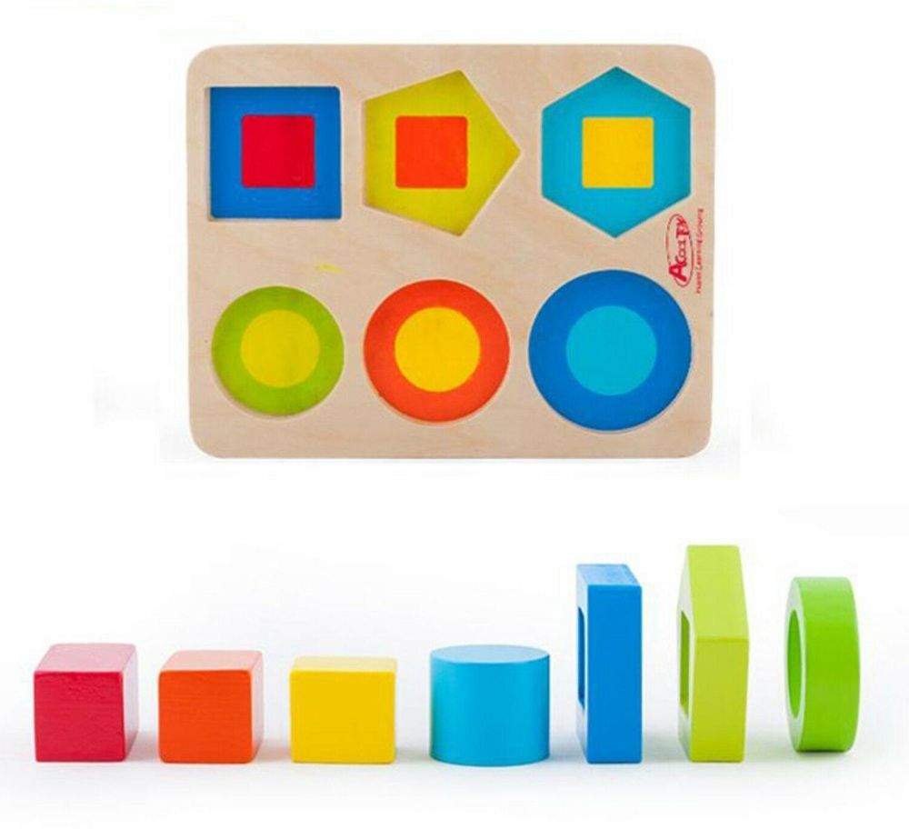 العاب اطفال تعليميه لوحة فرز و تطابق الاشكال و الالوان العاب الرضع التعليم المبكر و بناء المهارات الطفوله المبكر Educational Toys Early Childhood Baby Toys