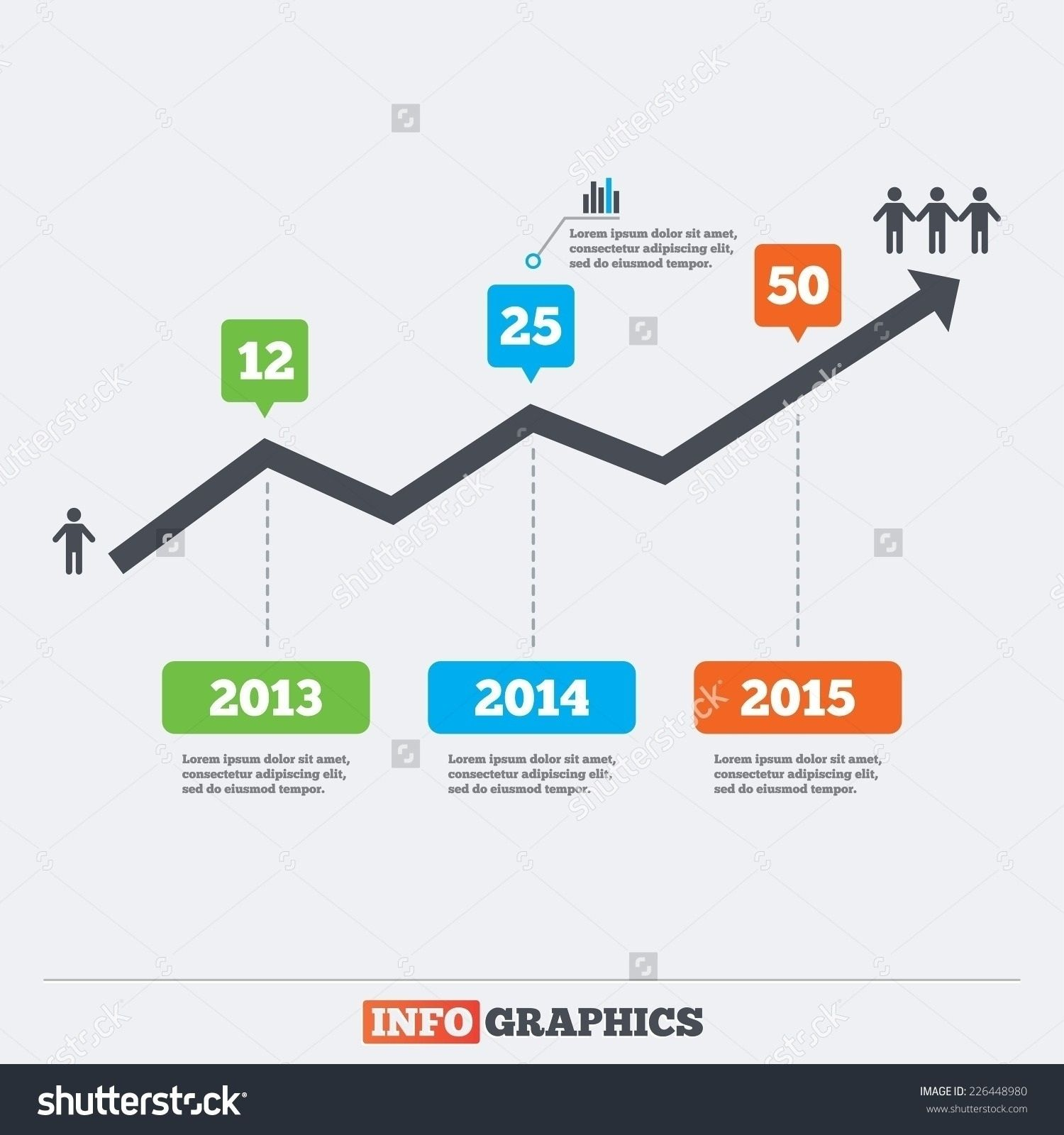 Infographic Line Graph Printable Menu And Chart Within