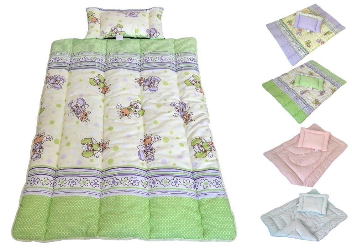 Decke Set Kinder Bettdecke Baby Steppbett+Kissen 100x135cm/40x60 ...