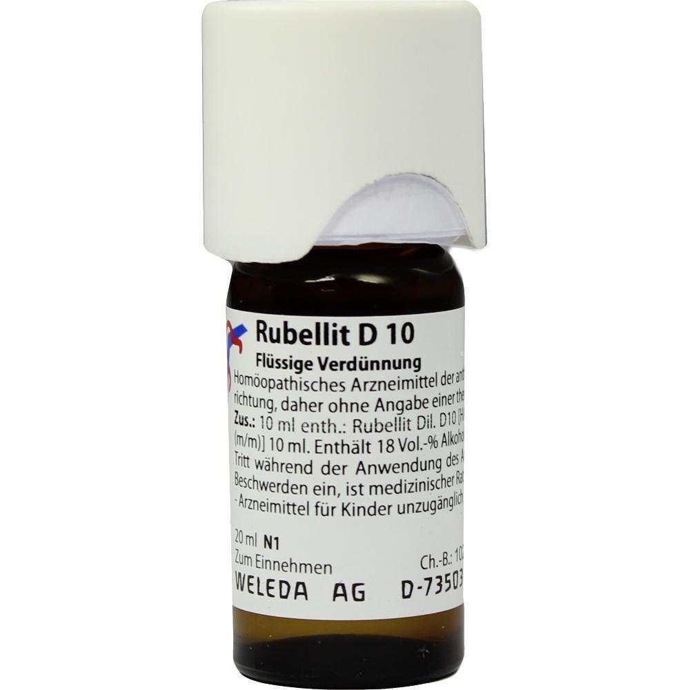 RUBELLIT D 10 Dilution:   Packungsinhalt: 20 ml Dilution PZN: 07074964 Hersteller: WELEDA AG Preis: 10,05 EUR inkl. 19 % MwSt. zzgl.…
