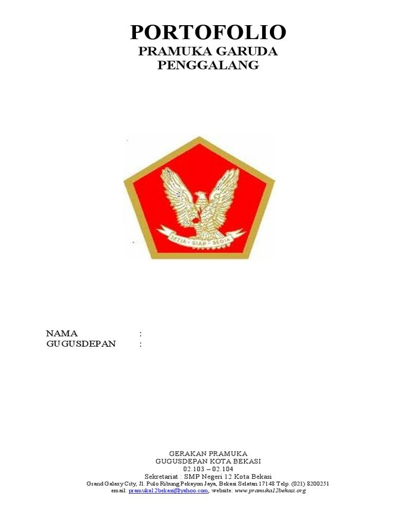 Gambar Pramuka Garuda