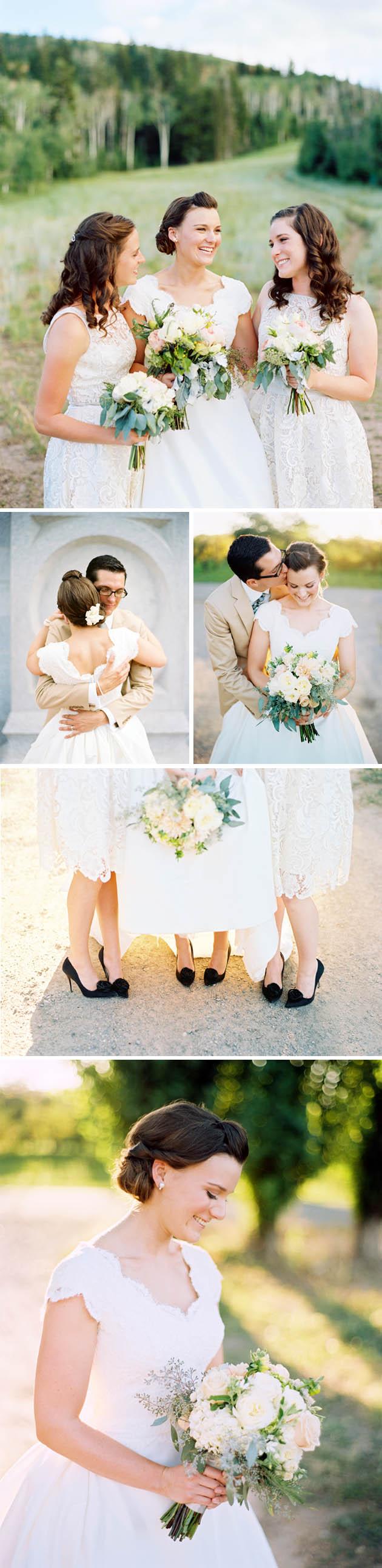 Bridal Style: An Adorable Scalloped Neckline