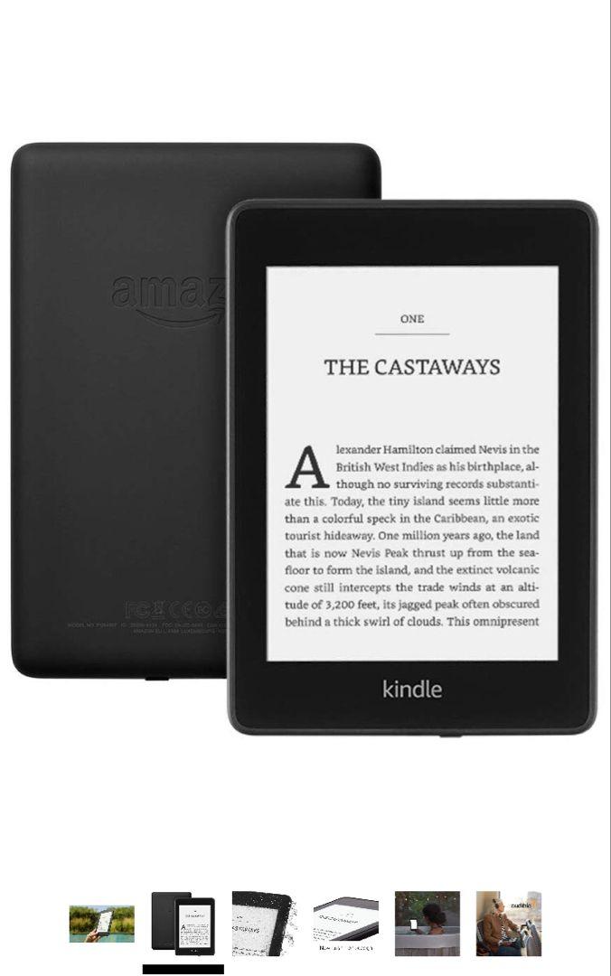 """Kindle Paperwhite Waterproof, 6"""" HighResolution Display"""