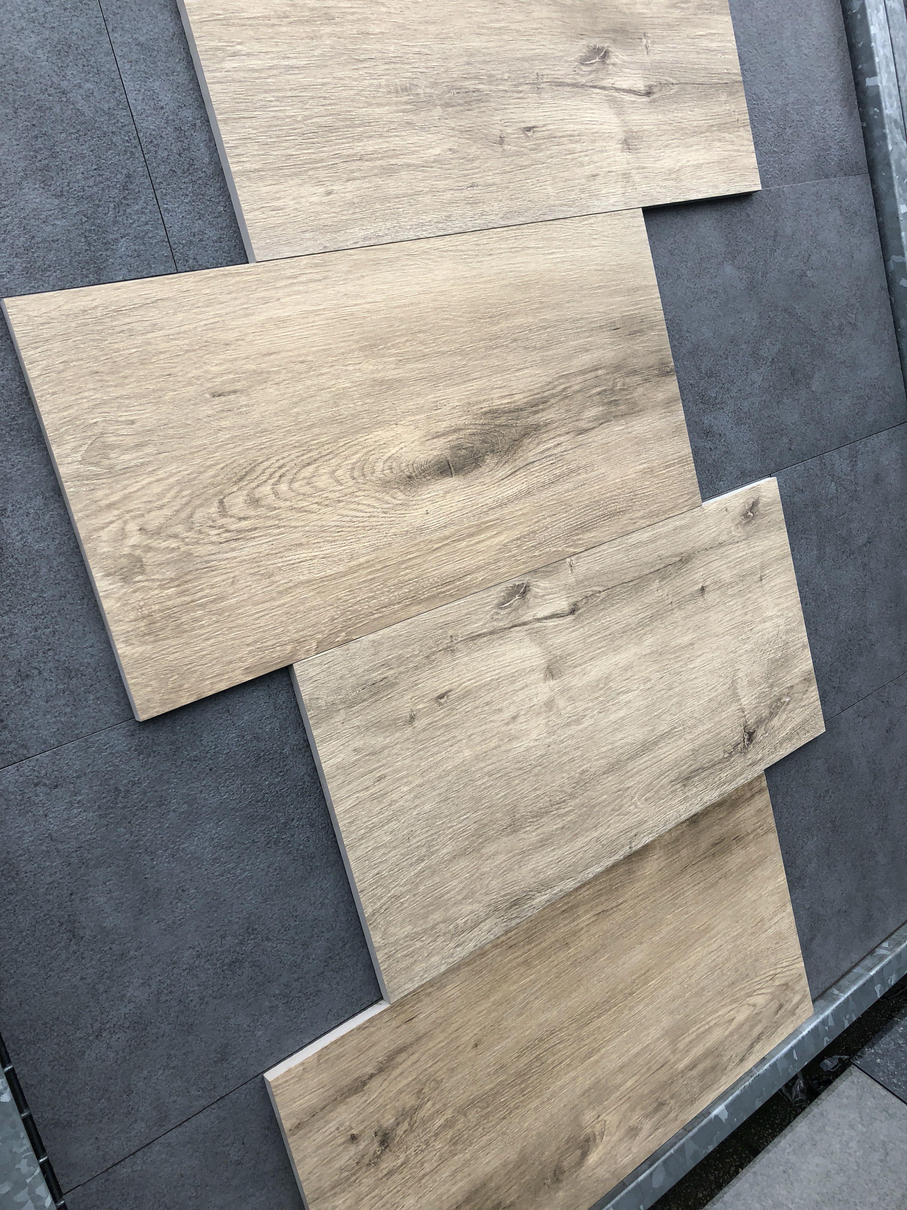 Tuintegels 5 Euro Per M2.Houtoptiek Keramische Tuintegels Terrastegels 40 5x81x2 Cm