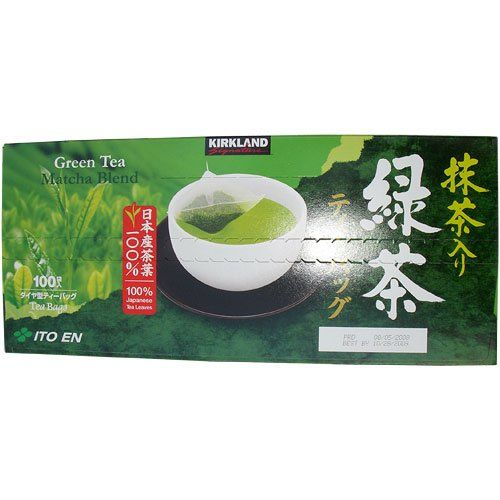 Kirkland Signature Ito En Matcha Blend Green Tea 100