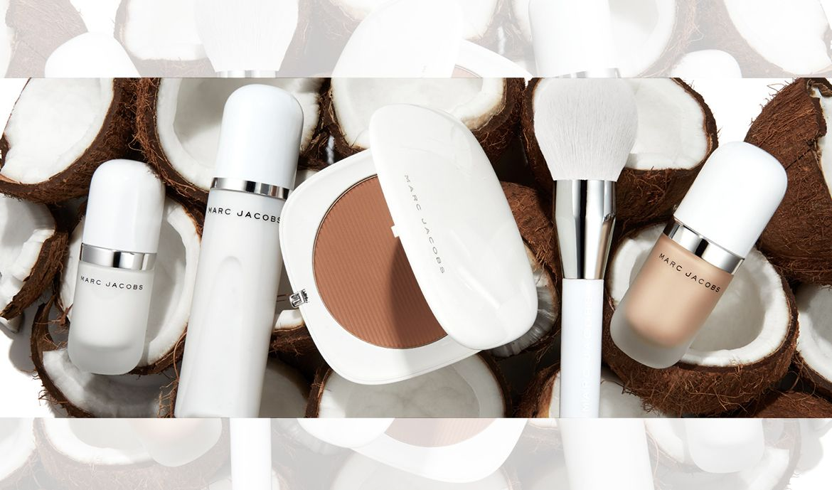 NEW! Marc Jacobs Coconut Collection. Now available! #marcbeauty #marcjacobs #beauty #makeup #sephora