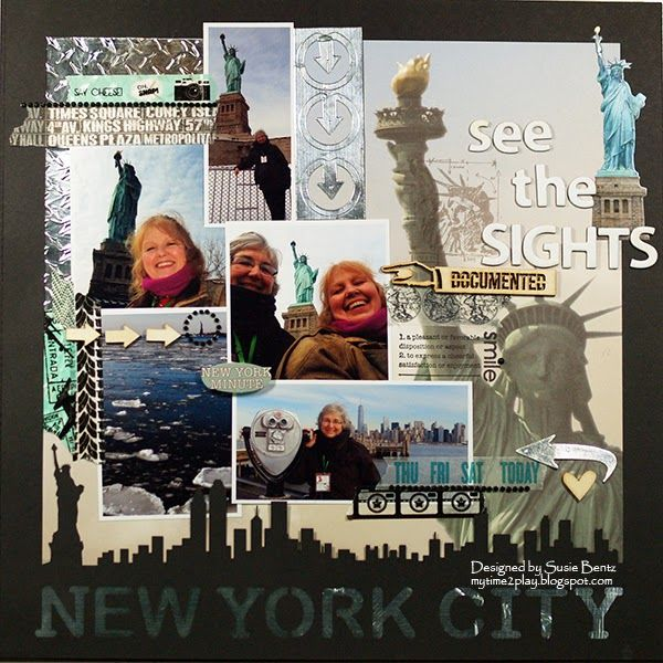 My Time To Play: New York City & The Statue Of Liberty! By