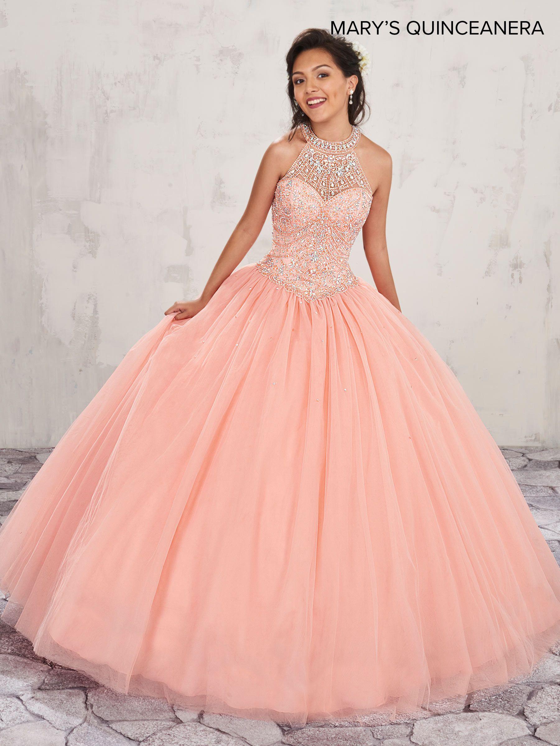 Robe de quinceanera rose