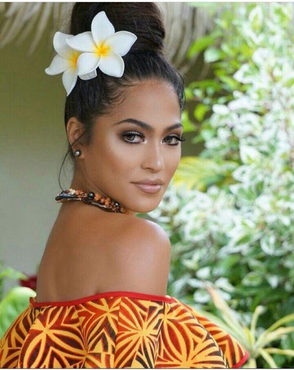 Rick Johnson 1950 2006 Island Hair Polynesian Girls Hawaiian Hairstyles