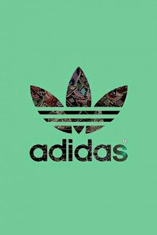 Dark Green Adidas Logo