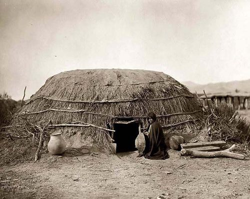 Images of native american houses