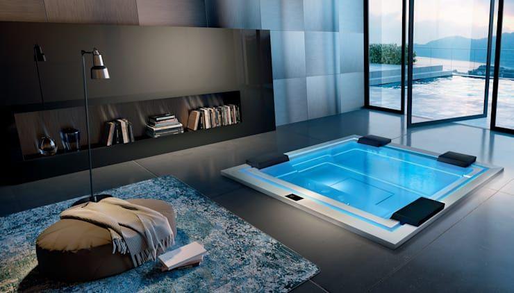 traumhafter luxus whirlpool f r drinnen drau en die. Black Bedroom Furniture Sets. Home Design Ideas