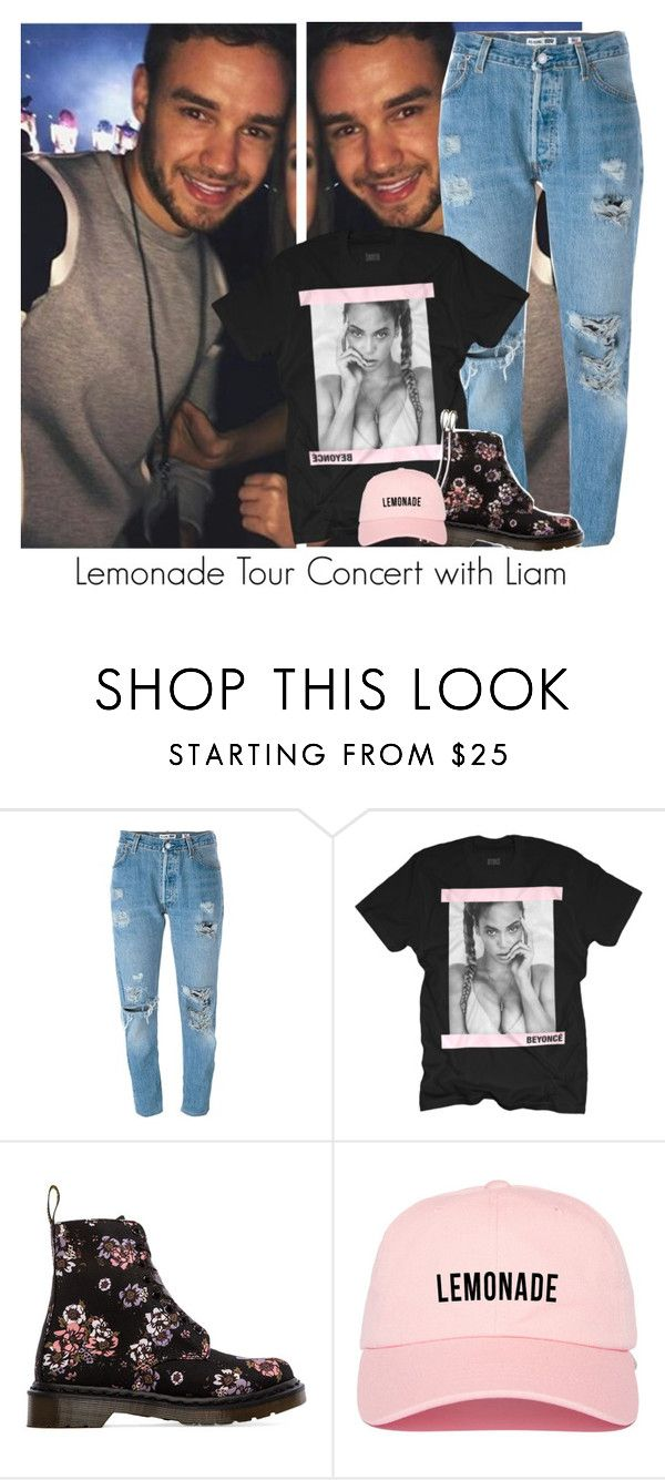"""Lemonade Tour Concert with Liam"" by reasongirl ❤ liked on Polyvore featuring Payne, Levi's and Dr. Martens"
