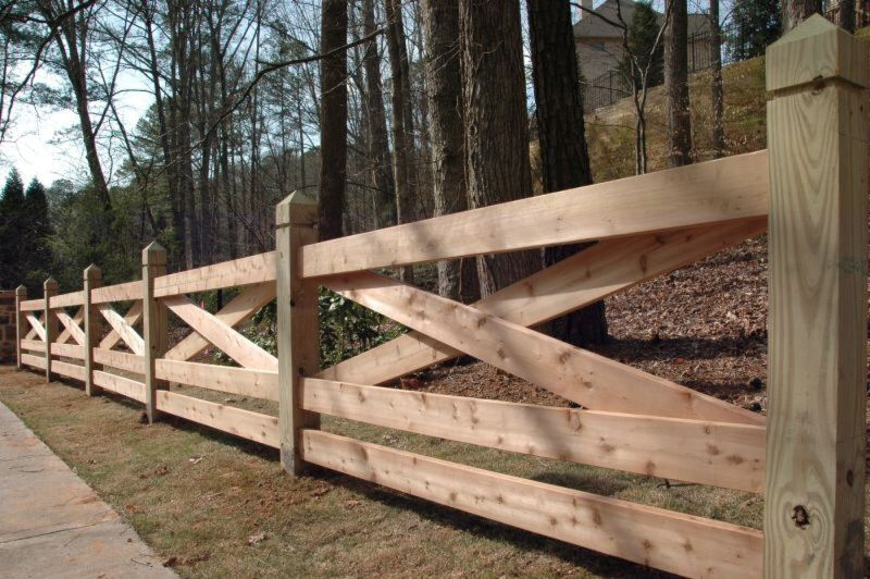 Pasture Barn Style Fence Fence Design Backyard Fences Rustic Fence
