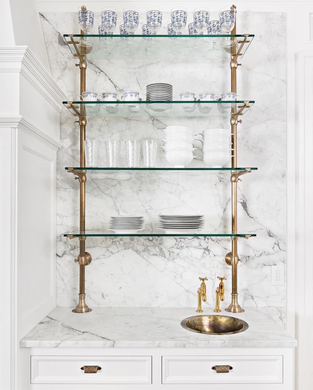 Glass Kitchen Shelf: Pin By Cathy Dougherty On Here's To You! In 2019