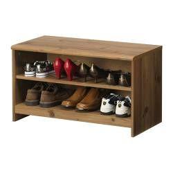 GREVBÄCK Bench with shoe storage - IKEA  sc 1 st  Pinterest & GREVBÄCK Bench with shoe storage - IKEA | House Ideas | Pinterest ...