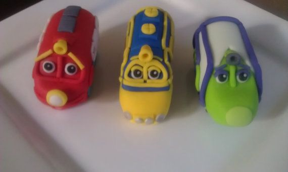 Chuggington Inspired Cake Toppers by KonfectionKonnection on Etsy