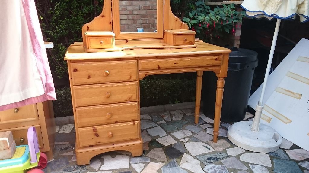 Solid Pine Dressing Table by Ducal | Battersea, London | Gumtree