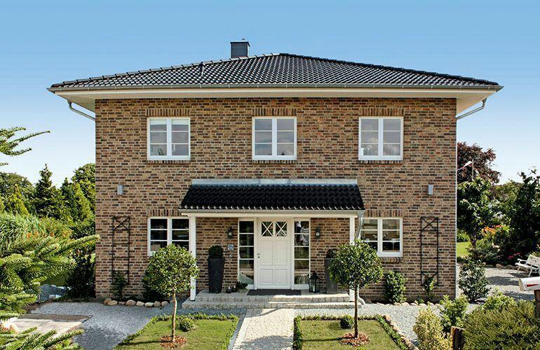 stadtvilla 160 qm von eco system haus gmbh stadtvillen pinterest house. Black Bedroom Furniture Sets. Home Design Ideas