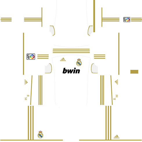 Real Madrid Kits 2011 2012 Dream League Soccer In 2020 Real Madrid Kit Real Madrid Home Kit Real Madrid