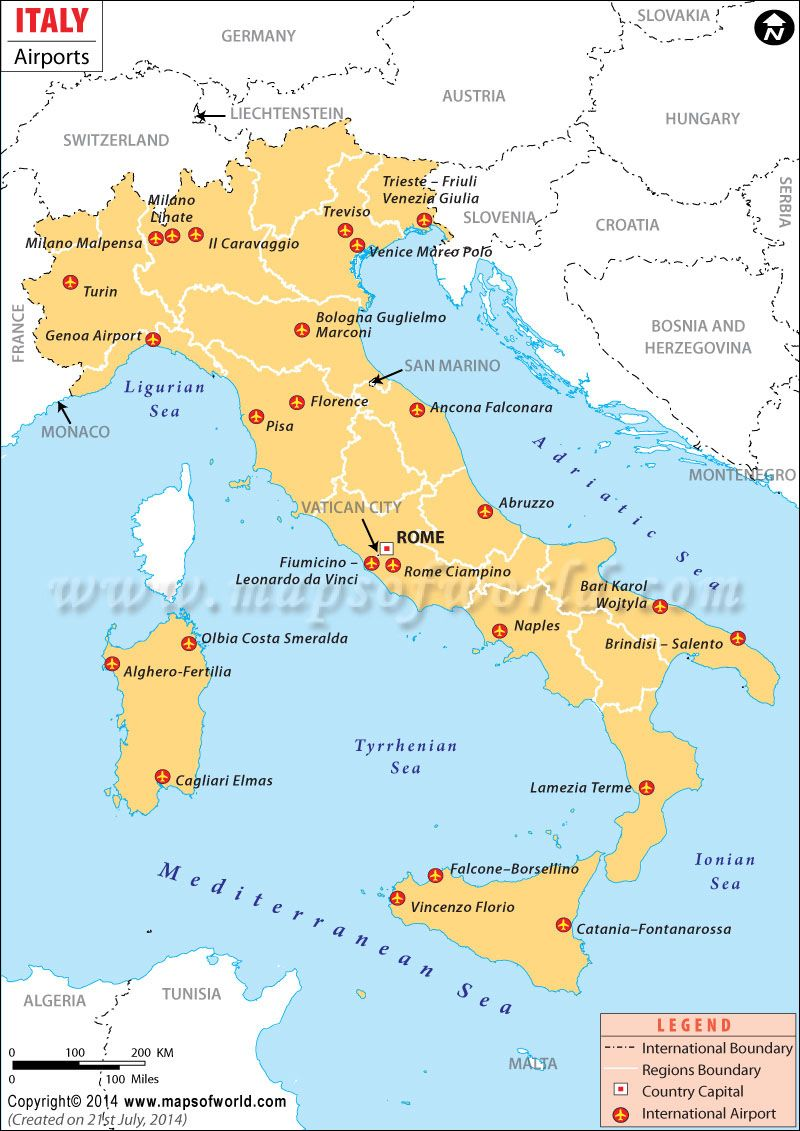 Airports In Italy Map Airports in Italy | Dress ideas | Map, Italy, International airport